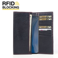 10% OFF + FREE SHIPPING, Buy the BEST PDair Handcrafted Premium Protective Carrying OPPO Reno Leather Continental Sleeve Wallet (Red Stitching). Exquisitely designed engineered for OPPO Reno.