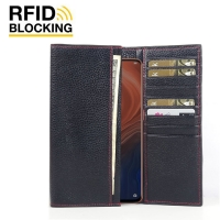 10% OFF + FREE SHIPPING, Buy the BEST PDair Handcrafted Premium Protective Carrying OPPO Reno Z Leather Continental Sleeve Wallet (Red Stitching). Exquisitely designed engineered for OPPO Reno Z.