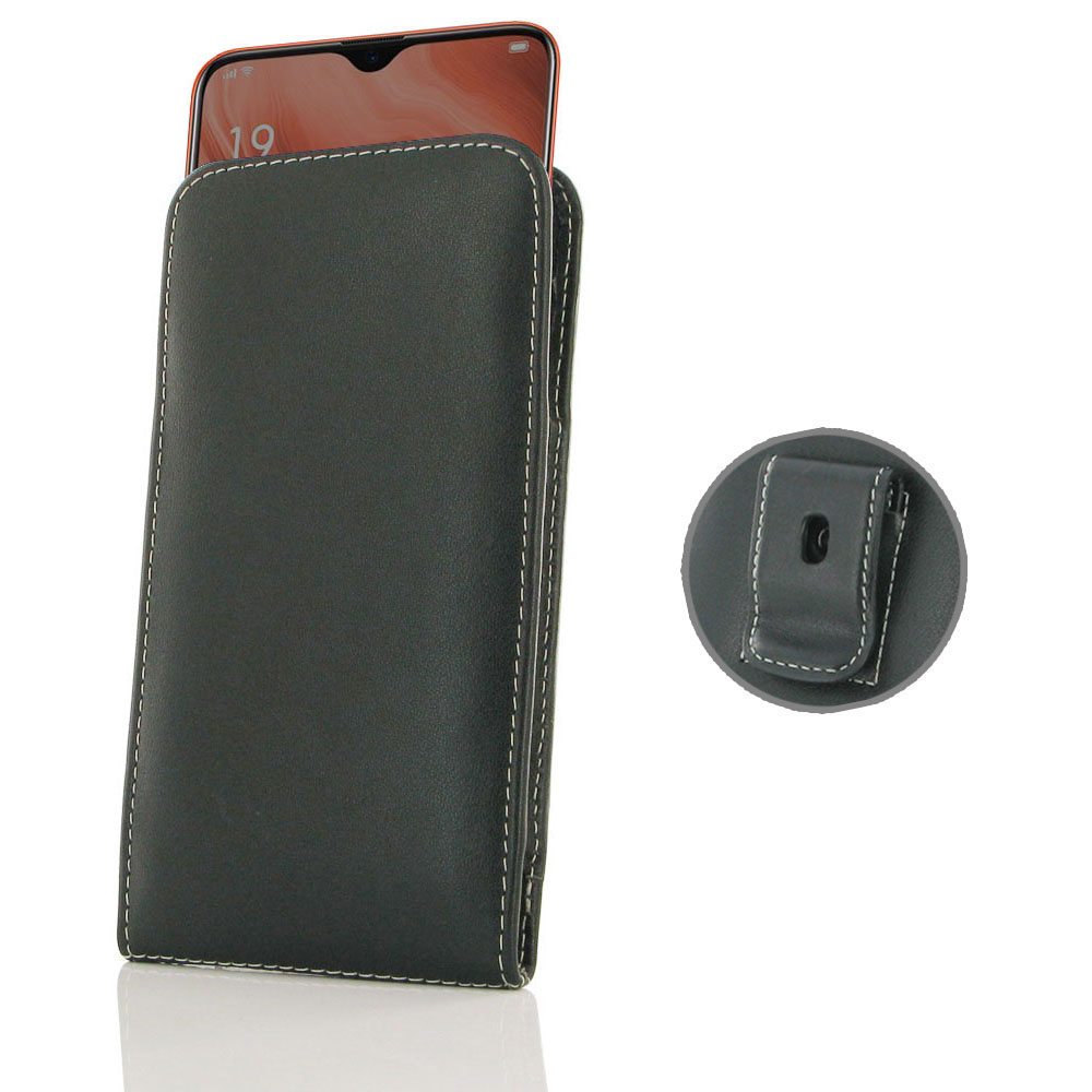 10% OFF + FREE SHIPPING, Buy the BEST PDair Handcrafted Premium Protective Carrying OPPO Reno Z Pouch Case with Belt Clip. Exquisitely designed engineered for OPPO Reno Z.