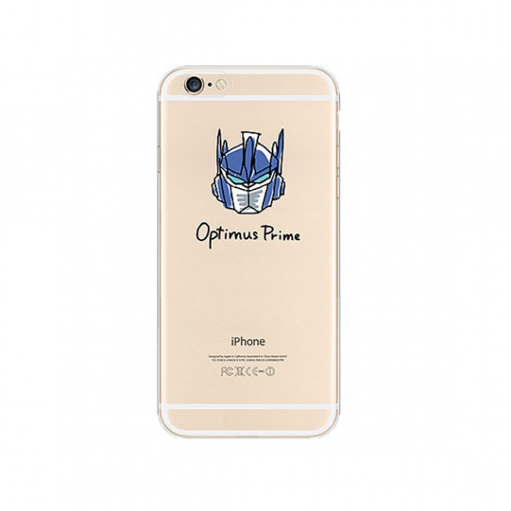 10% OFF + FREE SHIPPING, Buy PDair iPhone Soft Clear Case (Optimus Prime Transformers) which is available for iPhone 6 | iPhone 6s, iPhone 6 Plus | iPhone 6s Plus, iPhone 5 | iPhone 5s SE. You also can go to the customizer to create your own stylish leath