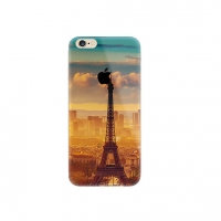 Paris Eiffel Tower Scenery iPhone 6s 6 Plus SE 5s 5 Pattern Printed Soft Case