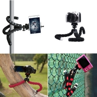 Portable Octopus Shaped Mini Tripod for Smartphone, Cell phone and Camera