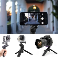 Portable Retractable Mini Handheld Grip Tripod Stand