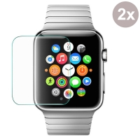 Premium Tempered Glass Film Screen Protector for Apple Watch 42mm (Pack of 2pcs)