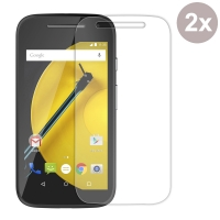 Moto E 2nd Tempered Glass Film Screen Protector :: PDair