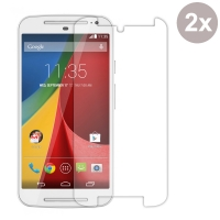 Premium Tempered Glass Film Screen Protector for Motorola Moto G (2nd Gen) XT1063 (Pack of 2pcs)