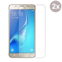 Premium Tempered Glass Film Screen Protector for Samsung Galaxy J7 (2016) (Pack of 2pcs)