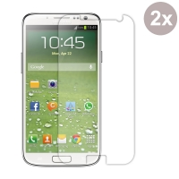 Premium Tempered Glass Film Screen Protector for Samsung Galaxy S4 SIV LTE GT-i9500 GT-i9505 (Pack of 2pcs)