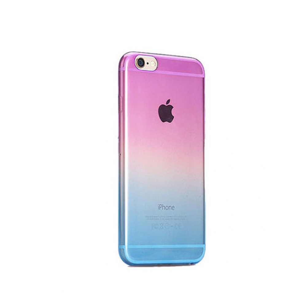 10% OFF + FREE SHIPPING, Buy PDair Gradient iPhone Soft Clear Case (Purple to Blue) which is available for iPhone 5 | iPhone 5s, iPhone 6 | iPhone 6s, iPhone 6 Plus | iPhone 6s Plus, iPhone SE You also can go to the customizer to create your own stylish l