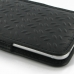 iPhone 8 Leather Sleeve Pouch Case (Black Metal Pattern) handmade leather case by PDair