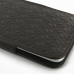 iPhone 7 Plus Leather Sleeve Pouch Case (Brown Metal Pattern) protective carrying case by PDair