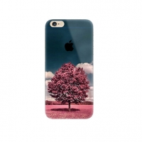 Red Tree Scenery iPhone 6s 6 Plus SE 5s 5 Pattern Printed Soft Case