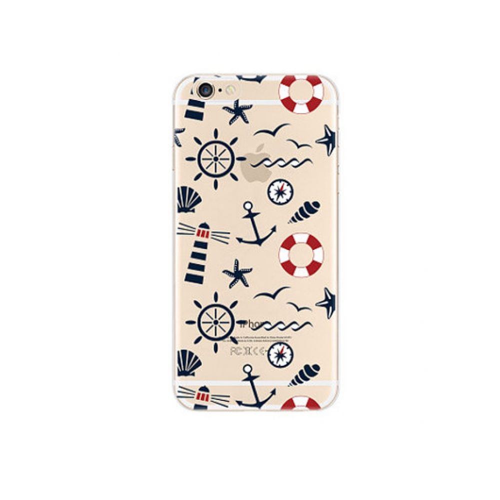 10% OFF + FREE SHIPPING, Buy PDair iPhone Soft Clear Case (Sailing Anchor Wheel Pattern) which is available for iPhone 6 | iPhone 6s, iPhone 6 Plus | iPhone 6s Plus, iPhone 5 | iPhone 5s SE. You also can go to the customizer to create your own stylish lea