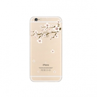 Sakura Cherry Blossom Floral iPhone 6s 6 Plus SE 5s 5 Pattern Printed Soft Case