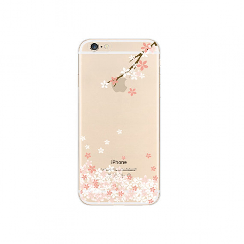 10% OFF + FREE SHIPPING, Buy PDair iPhone Soft Clear Case (Sakura Cherry Branch Petals Floral) which is available for iPhone 5 | iPhone 5s SE 6 6s, iPhone 6 Plus | iPhone 6s Plus. You also can go to the customizer to create your own stylish leather case i