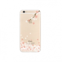 Sakura Cherry Branch Petals Floral iPhone 6s 6 Plus SE 5s 5 Pattern Printed Soft Case