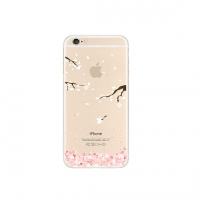 Sakura Cherry Petals Flying Floral iPhone 6s 6 Plus SE 5s 5 Pattern Printed Soft Case