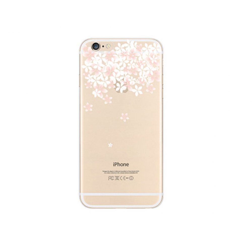 10% OFF + FREE SHIPPING, Buy PDair iPhone Soft Clear Case (Sakura Cherry Petals Top Floral) which is available for iPhone 6 | iPhone 6s, iPhone 6 Plus | iPhone 6s Plus, iPhone 5 | iPhone 5s SE You also can go to the customizer to create your own stylish l