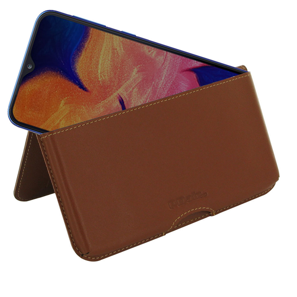 10% OFF + FREE SHIPPING, Buy the BEST PDair Handcrafted Premium Protective Carrying Samsung Galaxy A10 Leather Wallet Pouch Case (Brown). Exquisitely designed engineered for Samsung Galaxy A10.