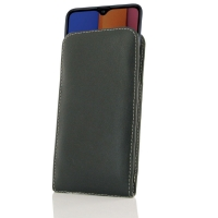 Leather Vertical Pouch Case for Samsung Galaxy A20s