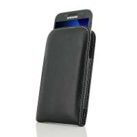 Leather Vertical Pouch Case for Samsung Galaxy A3 (2017)