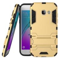 Samsung Galaxy A3 (2017) Tough Armor Protective Case (Gold)