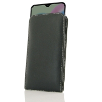 Samsung Galaxy A30s Leather Sleeve Pouch Case is custom designed to provide full protection with our traditional design. This handmade carrying case allows you to place your device anywhere like in bag or pocket. Beautiful stitching, elaborate handcrafted
