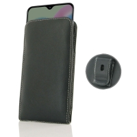 Samsung Galaxy A30s Pouch Case with Belt Clip is custom designed to provide full protection with our traditional design. This handmade carrying case allows you to place the device anywhere like on your belt, in bag or pocket conveniently. Beautiful stitch