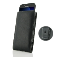 Leather Vertical Pouch Belt Clip Case for Samsung Galaxy A5 (2017)