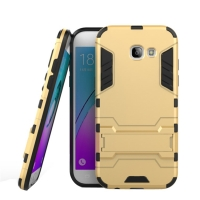 Samsung Galaxy A5 (2017) Tough Armor Protective Case (Gold)