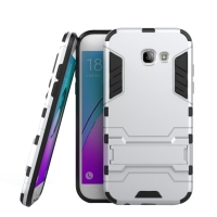 Samsung Galaxy A5 (2017) Tough Armor Protective Case (Silver)
