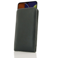 Samsung Galaxy A50s Leather Sleeve Pouch Case is custom designed to provide full protection with our traditional design. This handmade carrying case allows you to place your device anywhere like in bag or pocket. Beautiful stitching, elaborate handcrafted