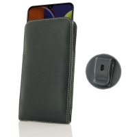 Leather Vertical Pouch Belt Clip Case for Samsung Galaxy A50s