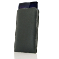 Leather Vertical Pouch Case for Samsung Galaxy A60