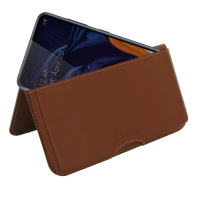 10% OFF + FREE SHIPPING, Buy the BEST PDair Handcrafted Premium Protective Carrying Samsung Galaxy A60 Leather Wallet Pouch Case (Brown). Exquisitely designed engineered for Samsung Galaxy A60.