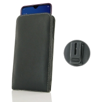 Leather Vertical Pouch Belt Clip Case for Samsung Galaxy A6s