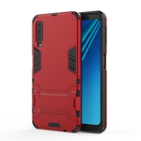 Samsung Galaxy A7 (2018) Tough Armor Protective Case (Red)