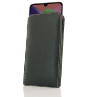 Leather Vertical Pouch Case for Samsung Galaxy A70s