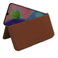 10% OFF + FREE SHIPPING, Buy the BEST PDair Handcrafted Premium Protective Carrying Samsung Galaxy A70s Leather Wallet Pouch Case (Brown). Exquisitely designed engineered for Samsung Galaxy A70s.
