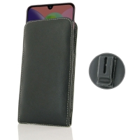 Leather Vertical Pouch Belt Clip Case for Samsung Galaxy A70s