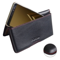 10% OFF + FREE SHIPPING, Buy the BEST PDair Handcrafted Premium Protective Carrying Samsung Galaxy A8 (2018) Leather Wallet Pouch Case (Red Stitch). Exquisitely designed engineered for Samsung Galaxy A8 (2018).
