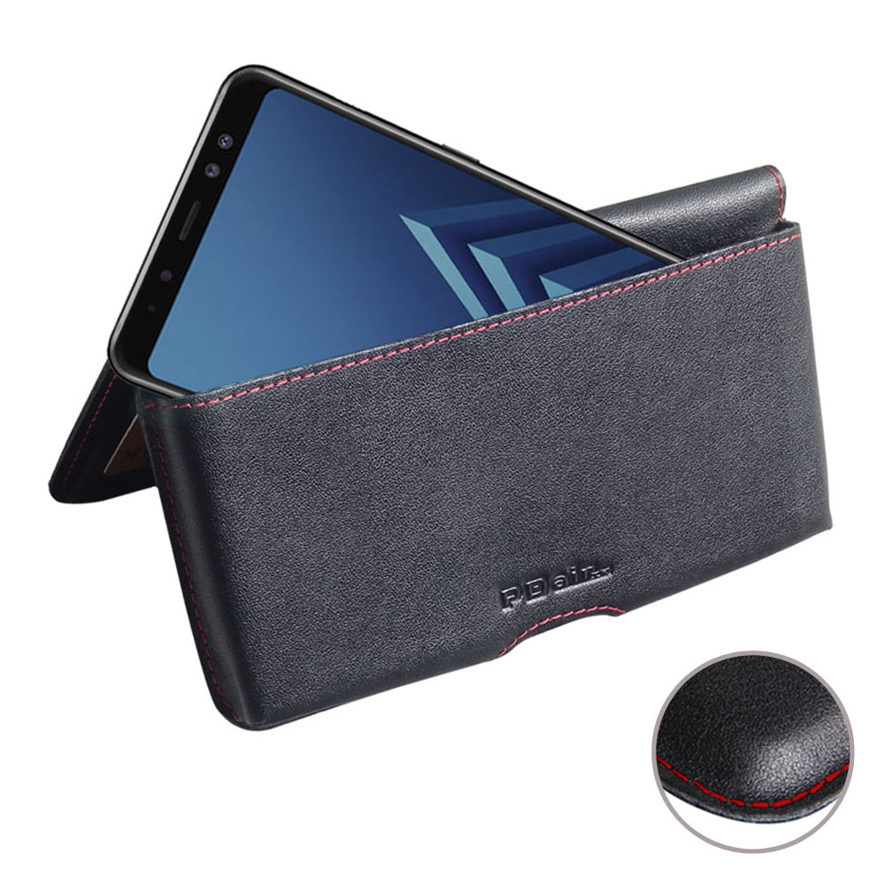 10% OFF + FREE SHIPPING, Buy the BEST PDair Handcrafted Premium Protective Carrying Samsung Galaxy A8 Plus (2018) Leather Wallet Pouch Case (Red Stitch). Exquisitely designed engineered for Samsung Galaxy A8 Plus (2018).
