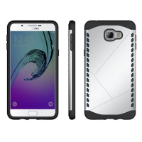 10% OFF + FREE Shipping, Buy Best PDair Premium Protective Samsung Galaxy A9 2016 Hybrid Combo Aegis Armor Case Cover (Silver) online. You also can go to the customizer to create your own stylish leather case if looking for additional colors, patterns and