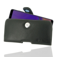 Leather Horizontal Pouch Case with Belt Clip for Samsung Galaxy A9 (2018)