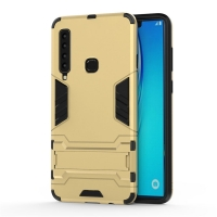 Samsung Galaxy A9 (2018) Tough Armor Protective Case (Gold)