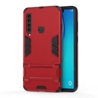 Samsung Galaxy A9 (2018) Tough Armor Protective Case (Red)
