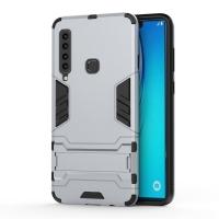 Samsung Galaxy A9 (2018) Tough Armor Protective Case (Silver)