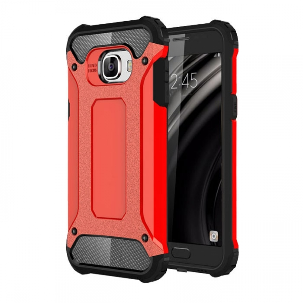 10% OFF + FREE SHIPPING, Buy Best PDair Top Quality Samsung Galaxy C5 Hybrid Dual Layer Tough Armor Protective Case (Red) online. You also can go to the customizer to create your own stylish leather case if looking for additional colors, patterns and type