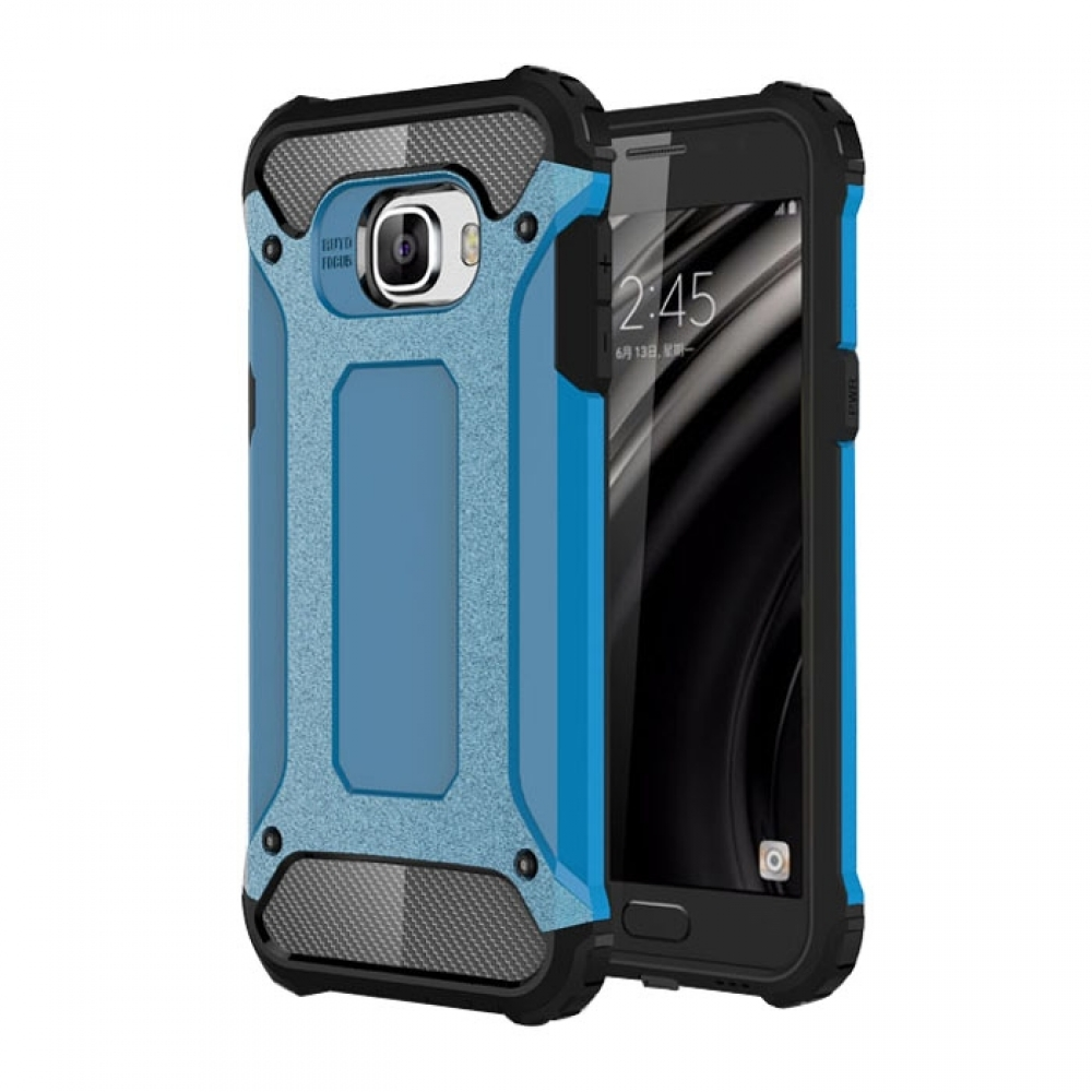 10% OFF + FREE SHIPPING, Buy Best PDair Top Quality Samsung Galaxy C5 Hybrid Dual Layer Tough Armor Protective Case (Skyblue) online. You also can go to the customizer to create your own stylish leather case if looking for additional colors, patterns and