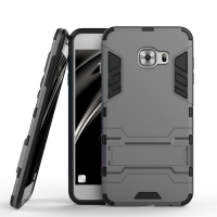 Samsung Galaxy C5 Tough Armor Protective Case (Grey)
